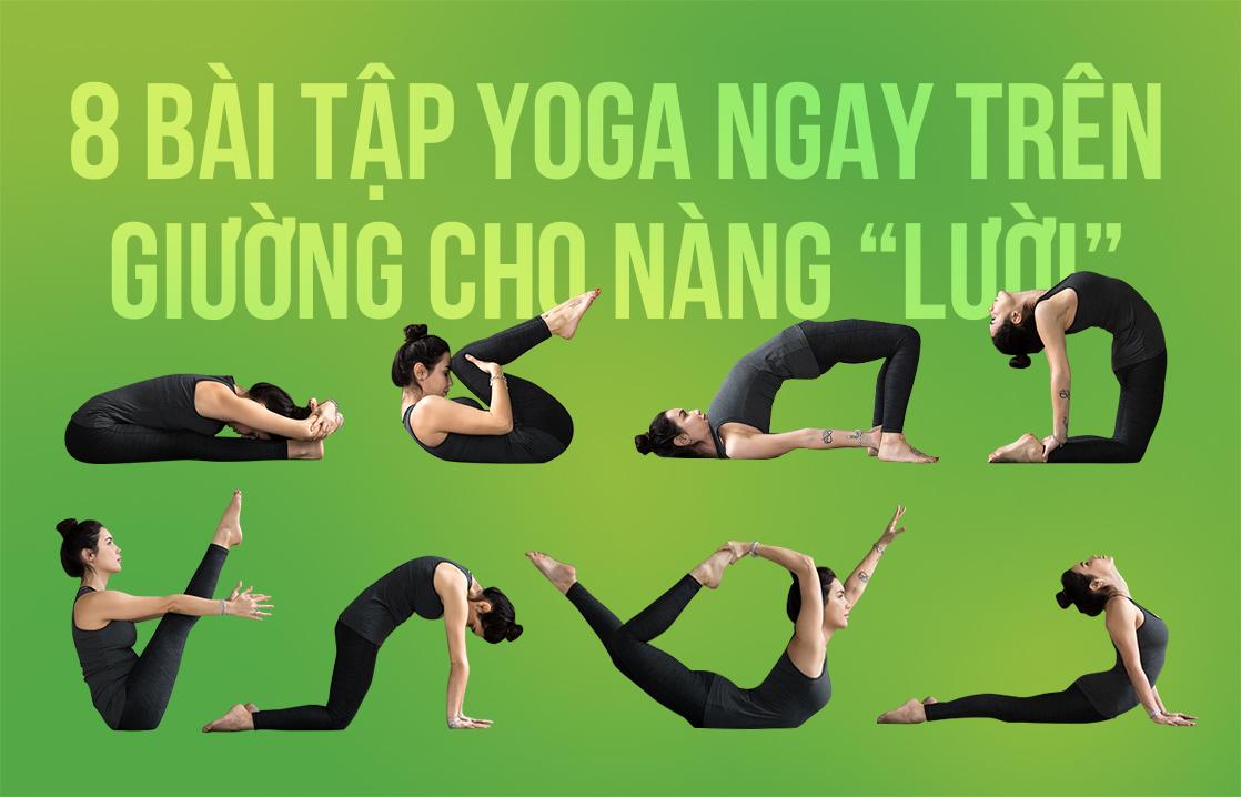 Yoga tren giuong